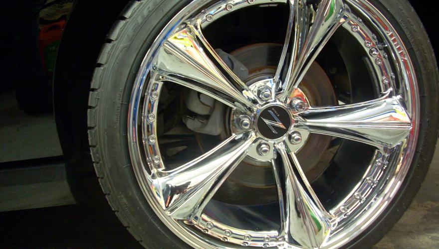 Ford Mustang 20´´Kromit jako 5x4,5