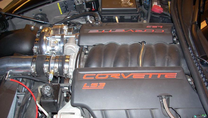 Corvette LS-3 Supercharged
