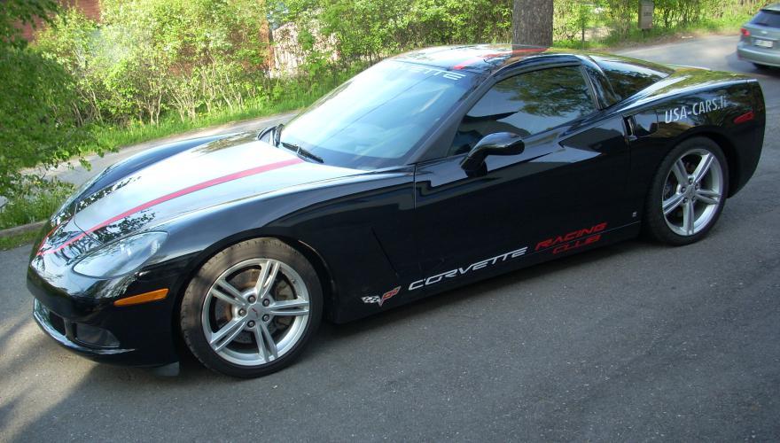 CorvetteC6 GrandSport Stripes