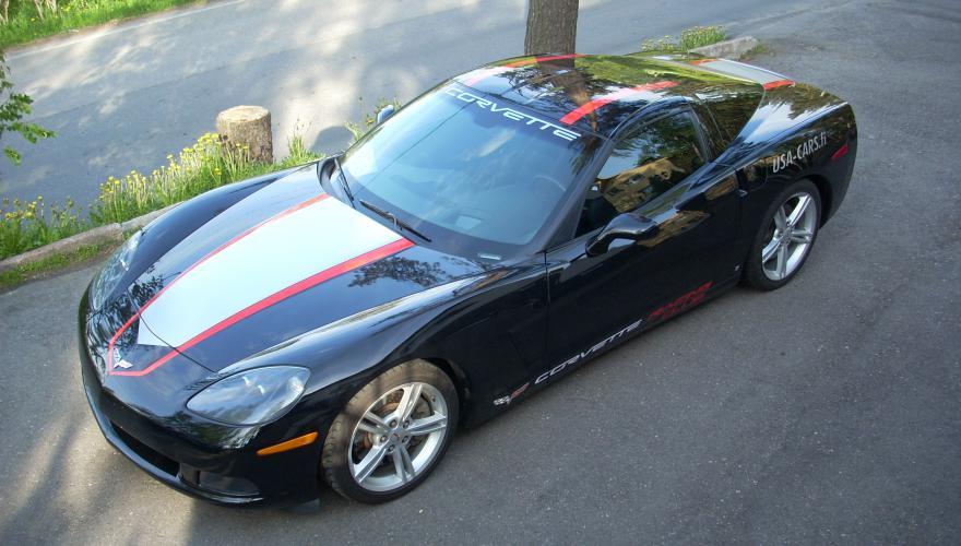 CorvetteC6 Grand Sport Stripes