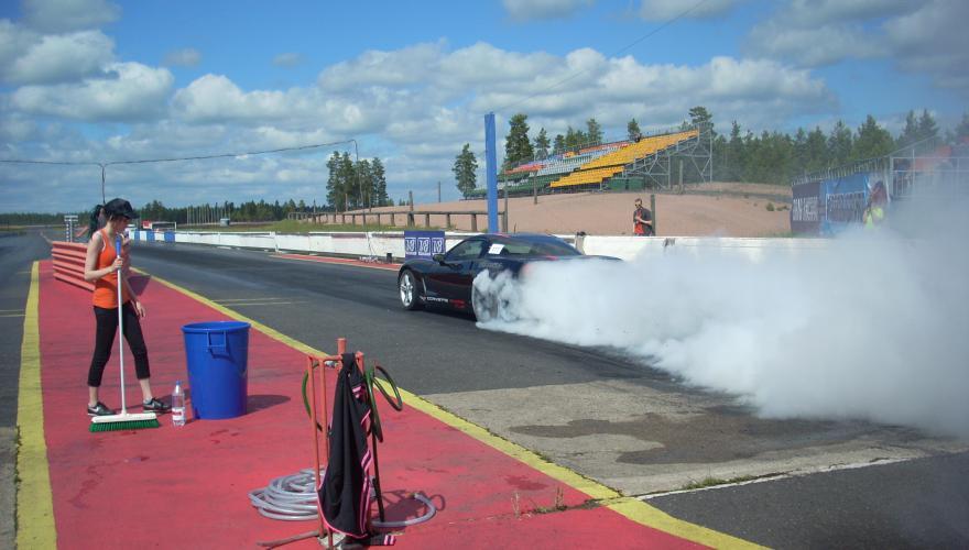 Corvette C6 Burnout