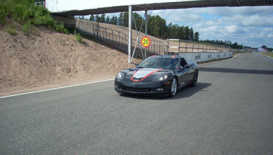 Corvette C6 return line