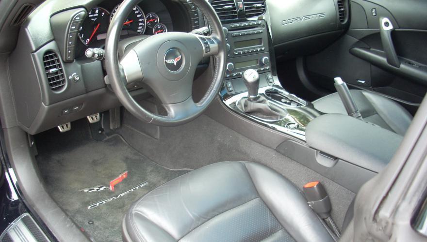 Corvette 2008 Black Leather